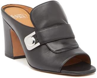 Franco Sarto Rosalie Leather Heeled Sandal
