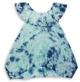 Splendid Girl's Tie Dyed Off-the Shoulder Top