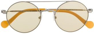Moncler Eyewear Round Frame Sunglasses