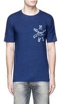 Denham Jeans Logo print cotton jersey T-shirt