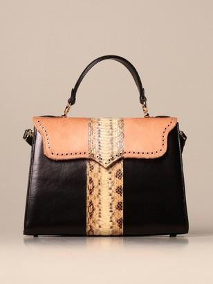 Tari' Rural Design Ab6 Tarigrave; Rural Design Bag In Leather And Ponyskin