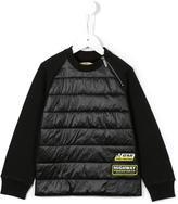 John Galliano padded front sweatshirt