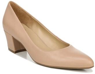Naturalizer Carmen Block Heel Pump - Wide Width Available