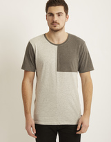 ONLY & SONS Mens Cut & Sew T-Shirt Grey