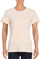 Lord & Taylor Crew Compact Cotton Tee