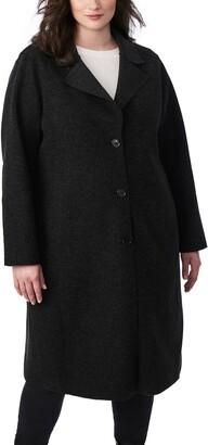 Bernardo Sweater Long Coat