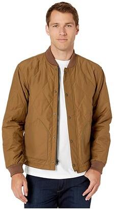 Filson Quilted Pack Jacket (Tan) Men's Coat