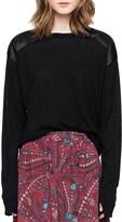 Zadig & Voltaire Kansas Patch Cashmere Sweater