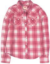 Levi's Girls' Long-Sleeve Plaid Shirt