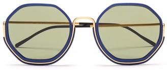 Wires Glasses Honeys - Gold/Lunar Blue/Green