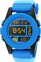 Nixon Men's A1972212-00 Unit Digital Display Japanese Automatic Blue Watch
