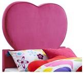 Powell Company Heart Upholstered Headboard Pink (Twin)