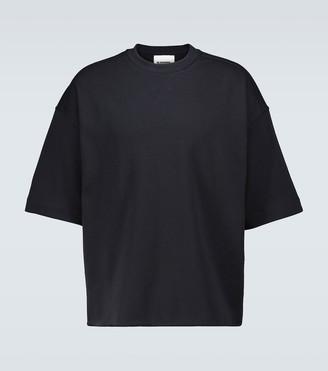 Jil Sander Oversized short-sleeved sweatshirt