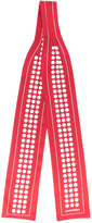 DSQUARED2 dot print scarf - women - Silk - One Size