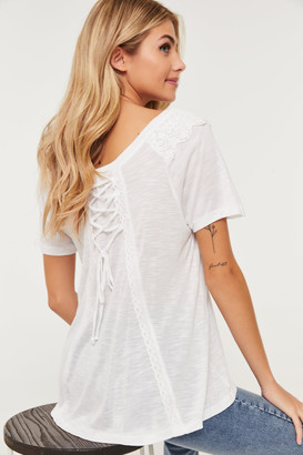 Ardene Laced Back Top
