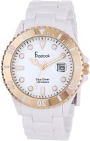 Freelook Men's HA1437RG-9 Sea Diver and Rose-Gold Bezel Watch