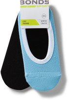Bonds Mesh Footlet Two Pack