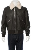 Hermes Leather Flight Jacket