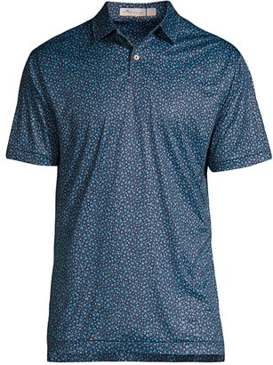 Peter Millar Featherweight Star Print Polo