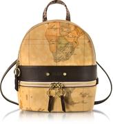 Alviero Martini Vanity Dark Brown Leather Backpack