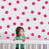 The Little Blue Owl Polka Dot Wall Stickers