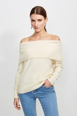 Karen Millen Super Soft And Cosy Bardot Jumper