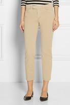 J Brand Piper stretch-cotton twill skinny pants