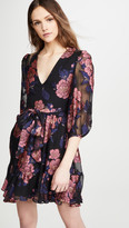Borgo de Nor Anita Floral Filcoupe Moon Flower Dress