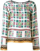 Forte Forte floral print blouse - women - Silk/Cupro - II