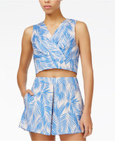 Rachel Roy Printed Crop Top, Only at Macy's