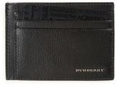 Burberry Men's New London Leather Card Case - Black