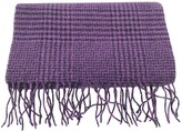 Christian Dior Purple Wool Scarves