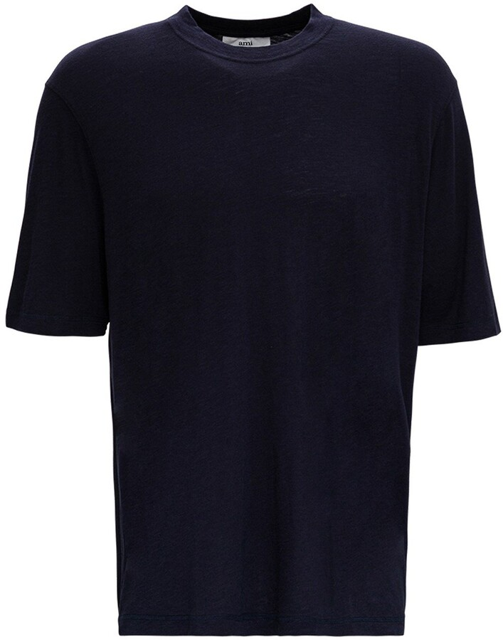 Thumbnail for your product : Ami Slub Jersey T-Shirt
