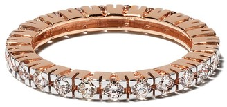 Botier 18kt rose gold Big Day diamond eternity ring