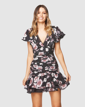 Pilgrim Women's Black Mini Dresses - Kimora Mini Dress - Size One Size, 8 at The Iconic