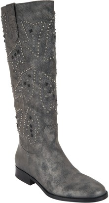 Frye & co. Distressed Leather Pull-on Tall Shaft Boots - Phoenix