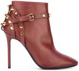 Balenciaga studded trim boots