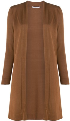 Agnona Long Open Front Cardigan