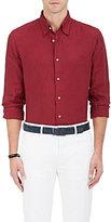 Caruso Men's Slub-Weave Linen Button-Down Shirt