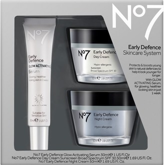 No7 No. 7 Early Defense Skincare System Kit