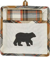 Roaring Thunder Bear Pot Holder & Dish Towel