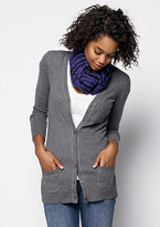 Lurex V-neck Boyfriend Cardigan