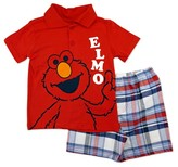 Sesame Street Toddler Boys' Top And Bottom Set - Multicolor