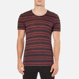 J. Lindeberg Men's Teller Stripe T-Shirt