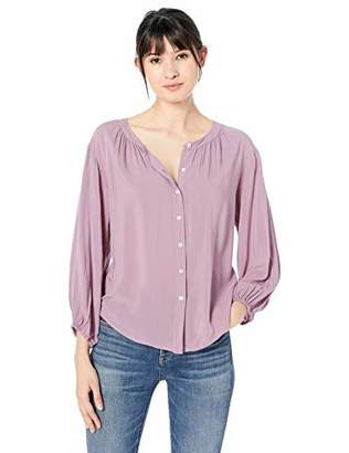 Velvet by Graham & Spencer Women's Leah Rayon Challis Blouse