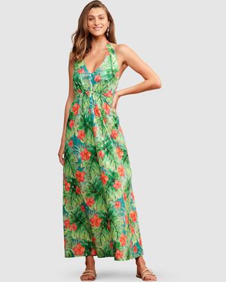SACHA DRAKE - Women's Green Dresses - Mermaid Beach Dress - Size One Size, 16 at The Iconic