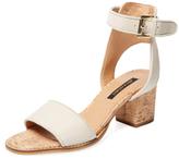 Ava & Aiden Cork Heel Two-Piece Sandal