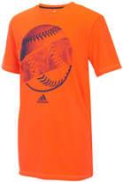 adidas Ball-Print T-Shirt, Little Boys