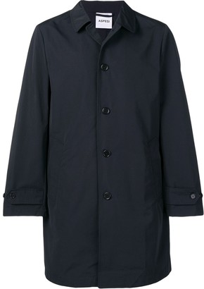 Aspesi Button-Up Trench Coat