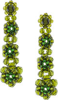 Simone Rocha flower drop earrings